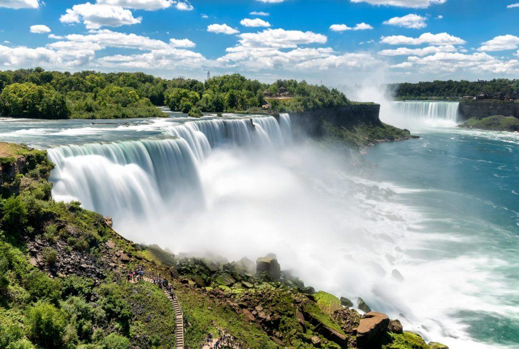 Niagara Falls American Falls panorama
