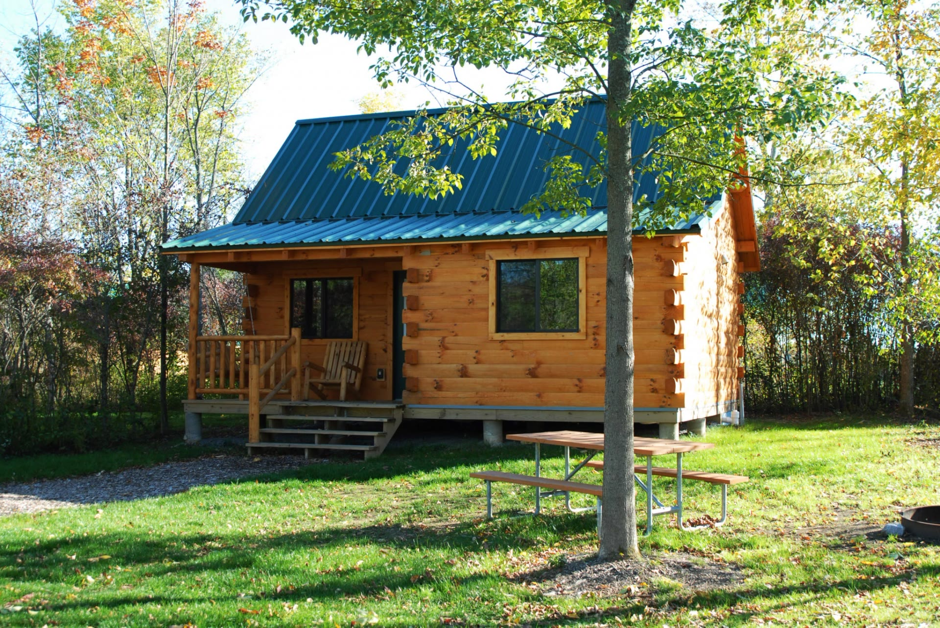 C14 Cabin in Fall