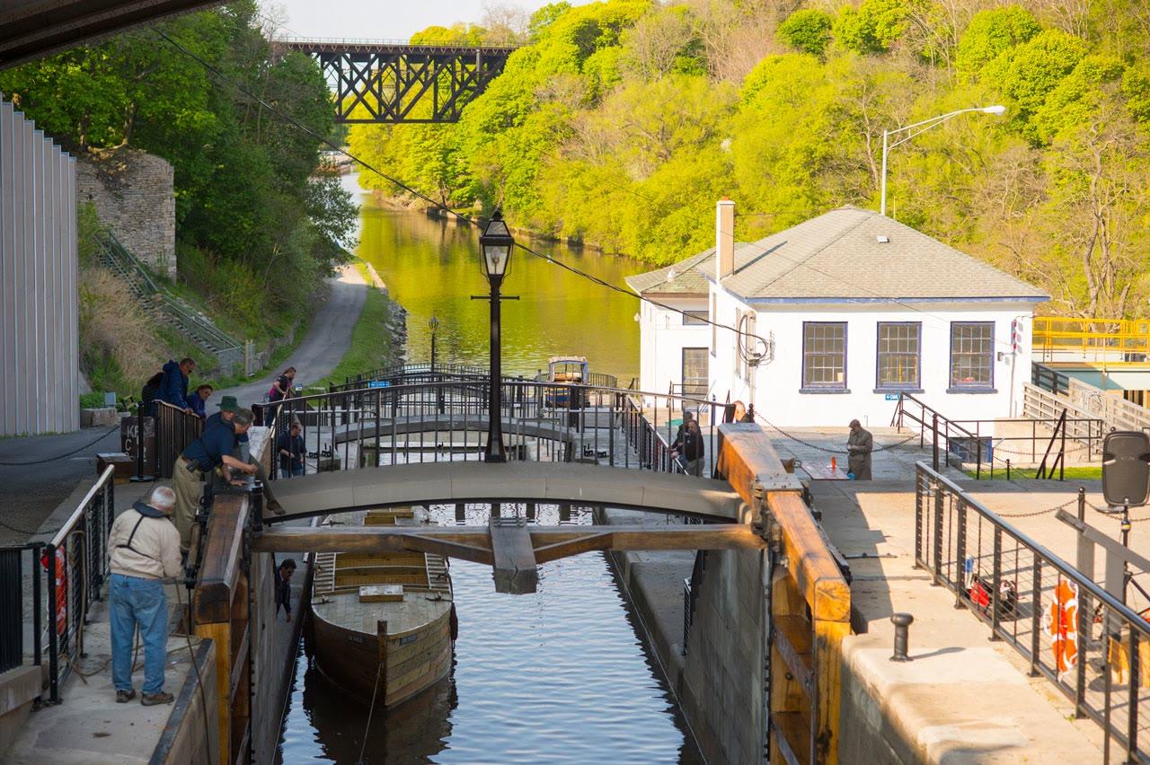 Lockport, NY Erie Canal