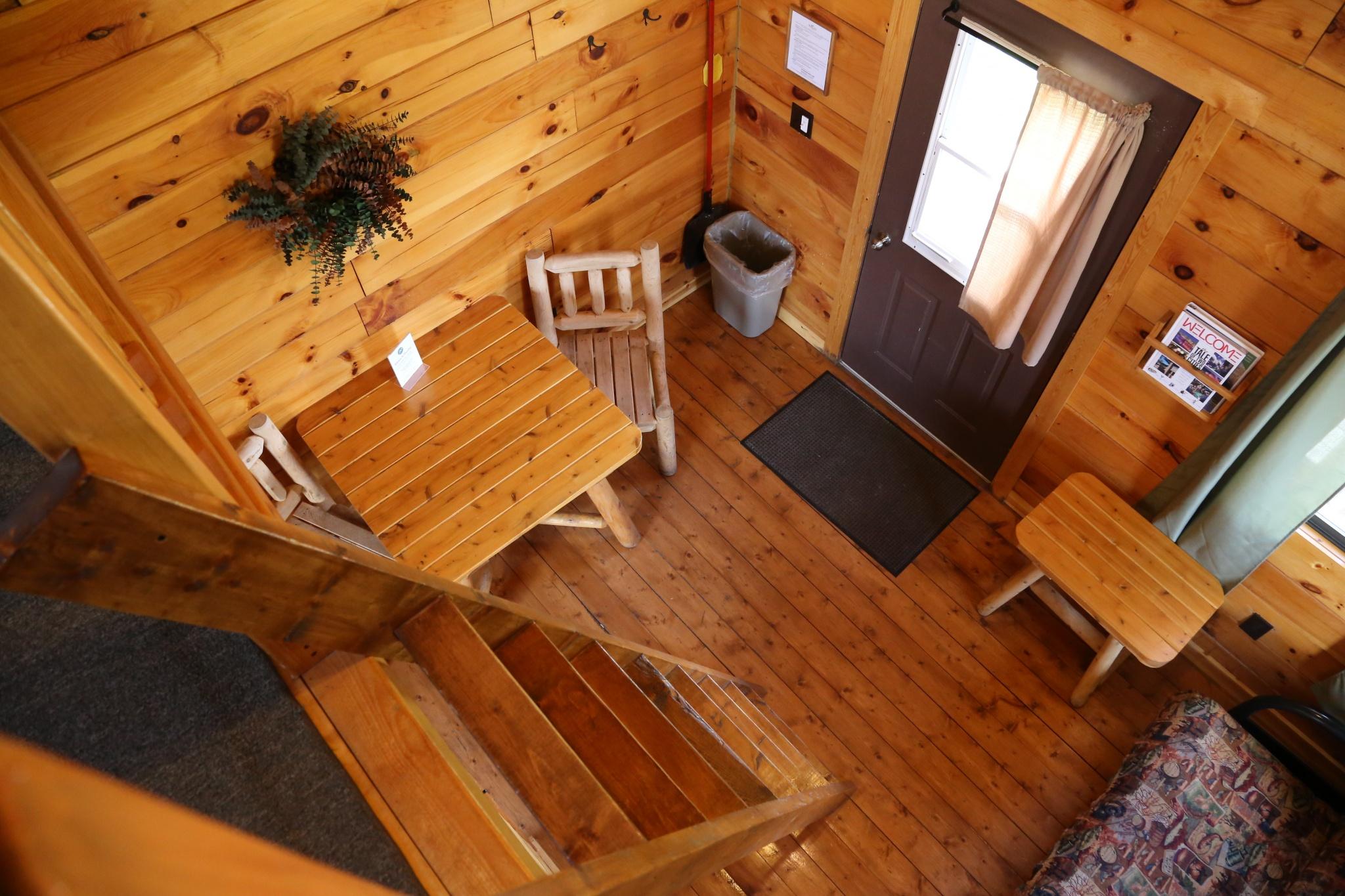 interior of the standard cabin