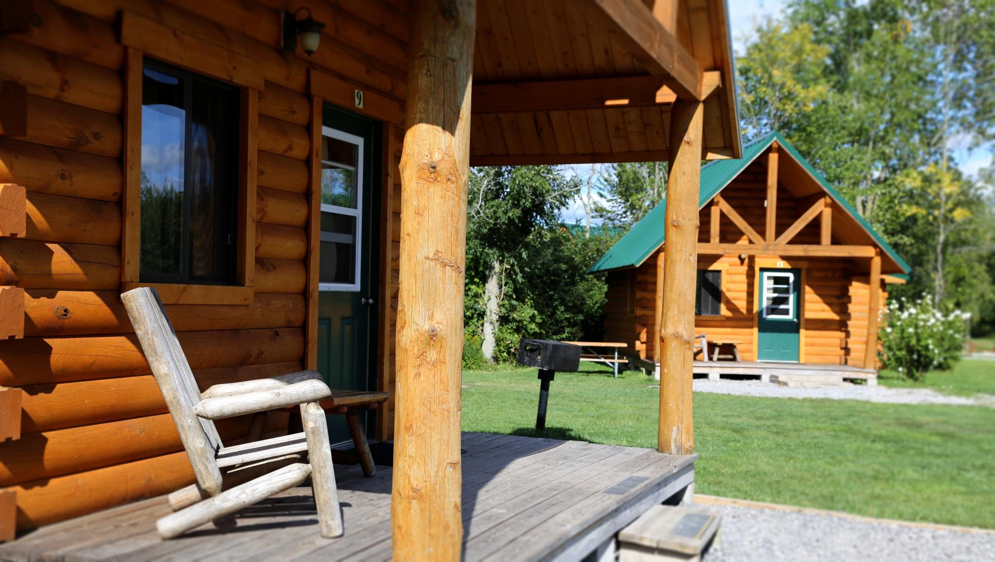 Standard plus cabin porch