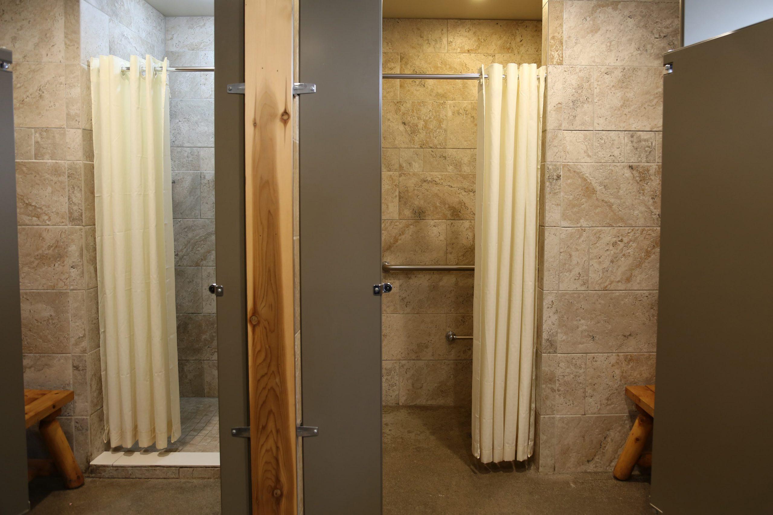 bathhouse interior showers