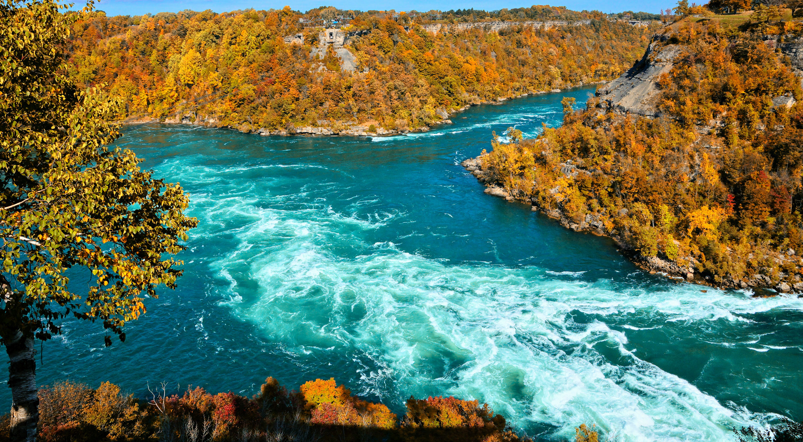 Niagara Gorge in the fall