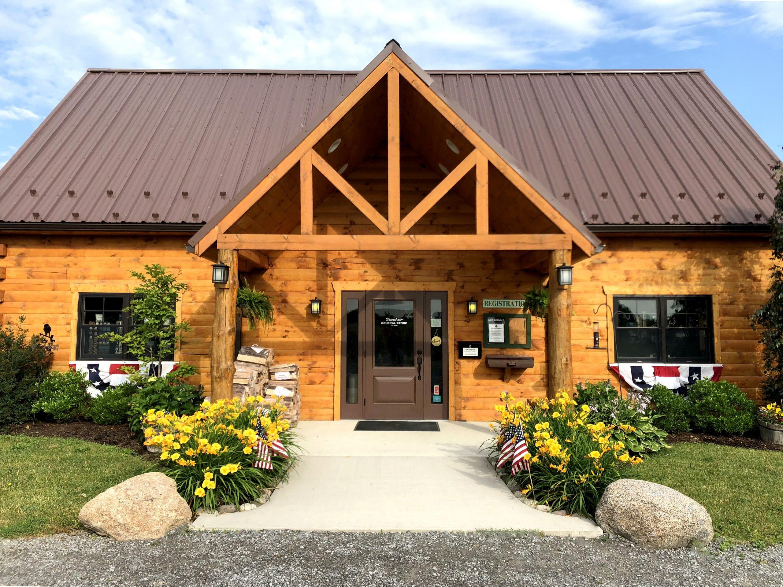 Log Building General Store entrance
